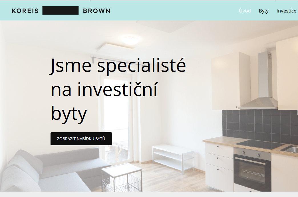 Koreis Brown – nové rezidenční nemovitosti