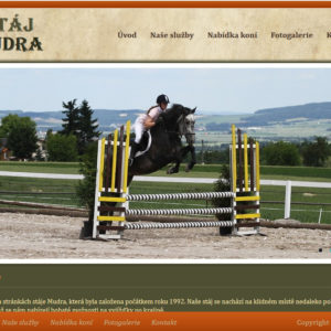 Stáj Mudra – investice do Equestrian projektu