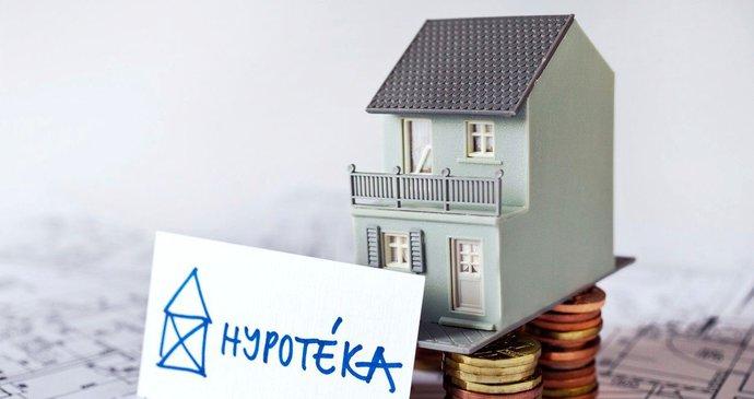 Úrokové sazby hypoték rostou, atakují hranici tří procent